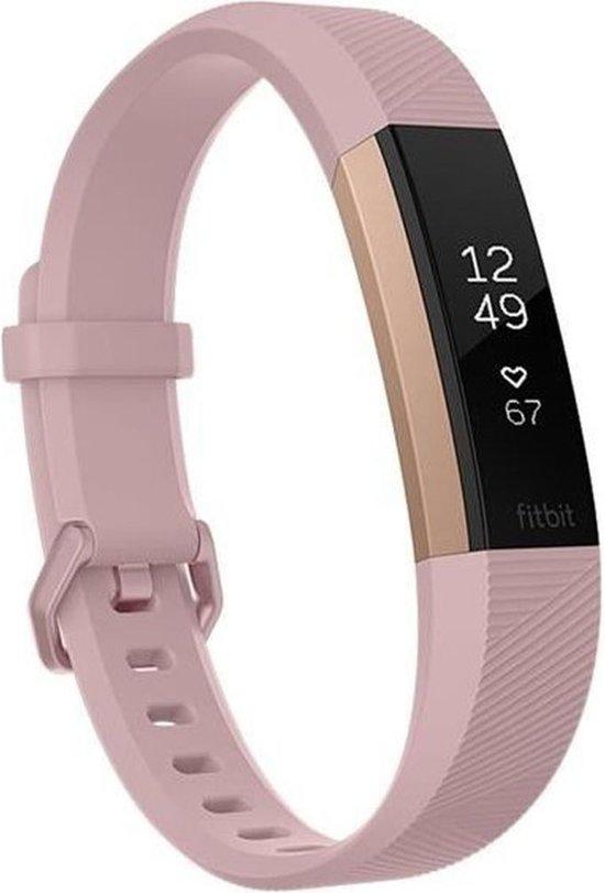 Fitbit Alta HR - Activity tracker - Roségoud - Large