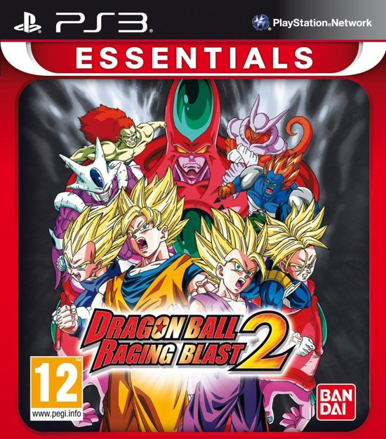 Dragon Ball Games For Ps3 : Bol dragon ball z raging blast essentials ps