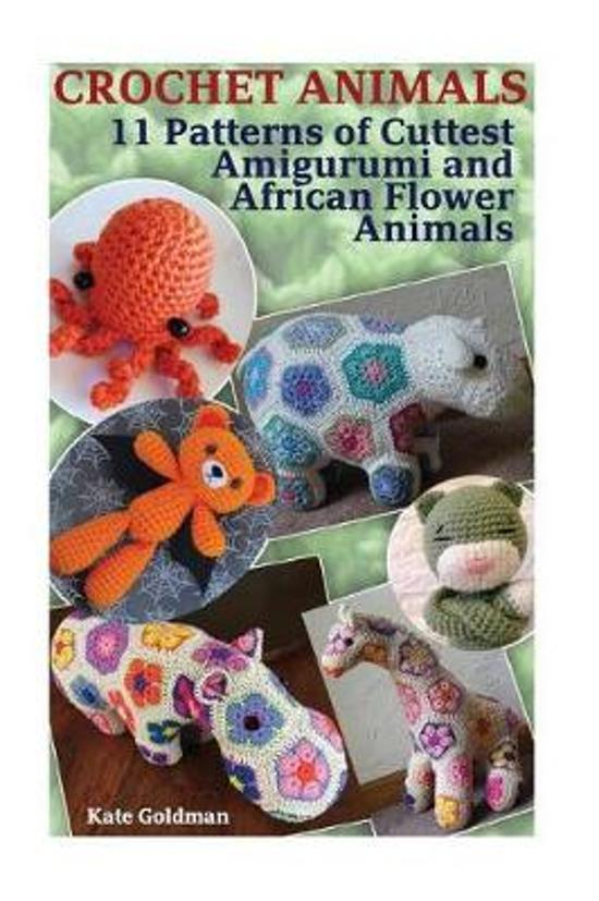 Bolcom Crochet Animals Kate Goldman 9781543272796 Boeken