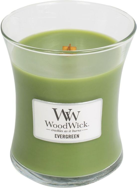 WoodWick® Medium Candle Evergreen