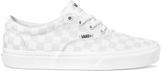 vans Doheny checkerboard white VNQA3MTFW511 heren, maat 40- 46