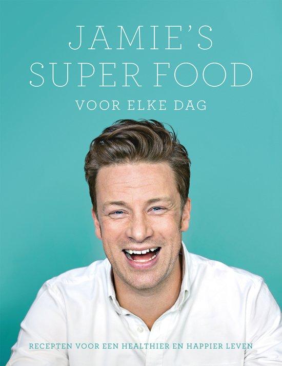 Boek cover Jamies super food voor elke dag van Jamie Oliver (Hardcover)