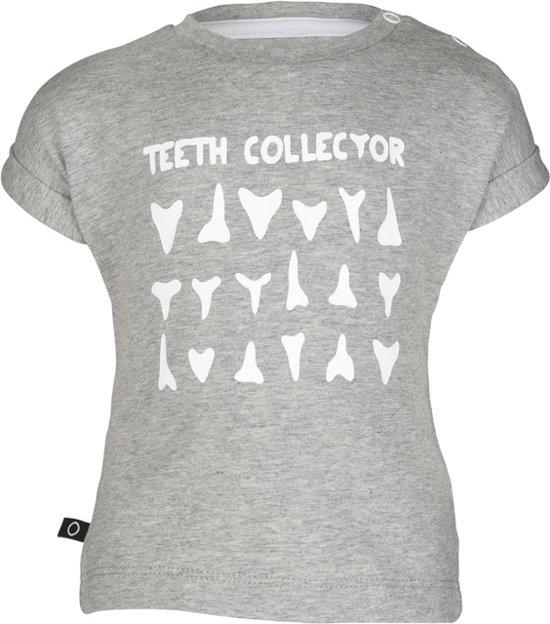 Noeser Tom jersey sweater teeth grey Maat: 62-68