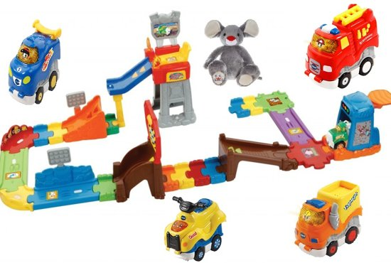 Bol Com Vtech Toet Toet Auto S Press Go Stuntshow Incl 4 Press