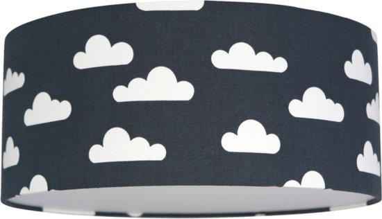 Plafondlamp Roozje - Wolken donkergrijs - 35cm