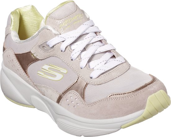 Worries Yellow no Maat DamesTaupe Skechers Sneakers Meridian 41 kiPZuXO