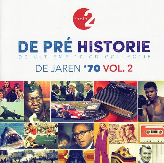 CD cover van De Pre Historie - De Jaren 70 Vol. 2 van various artists