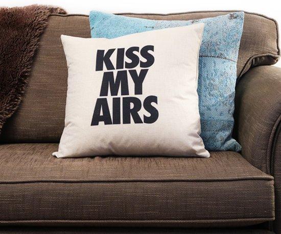 Vulling Voor Kussens : Bol kiss my airs kussen hoes vulling sneakers