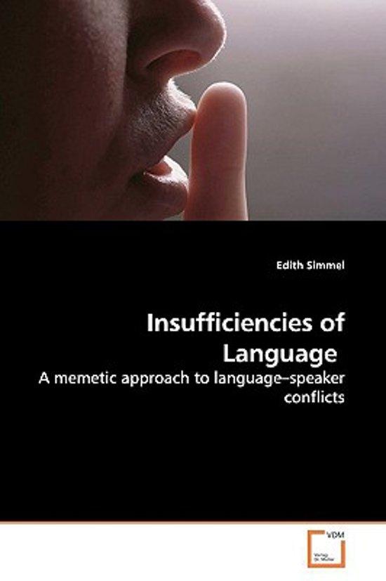 Insufficiencies of Language