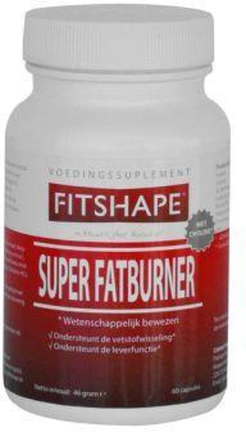 Fitshape Super Fat Burner - 180 Capsules