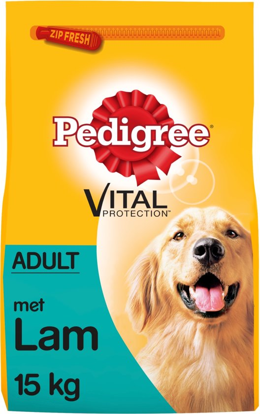 Pedigree Vital Protection Adult - Lam - Hondenvoer - 15 kg