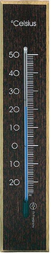 Dr.F kamerthermometer 17cm donker-beuken