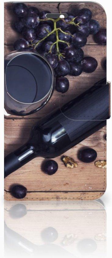 Huawei Honor 4A | Y6 Uniek Boekhoesje Wijn