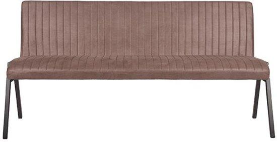 LABEL51 - Eettafelbank Matz 175 cm - Microvezel - Truffle