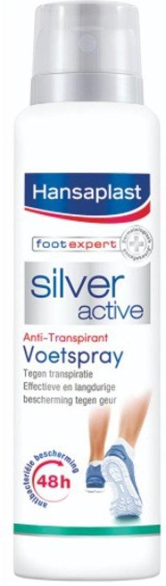 Hansaplast Silver Active Voetdeodorant - 150 ml