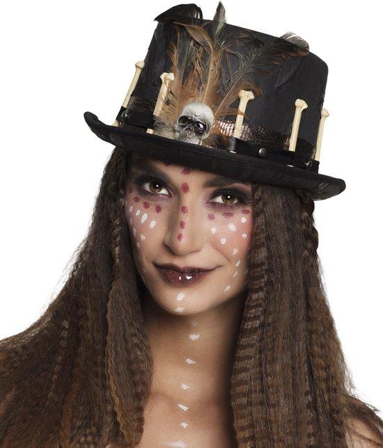 Hoe Ga Je Verkleed Met Halloween.Halloween Hoge Hoed Voodoo