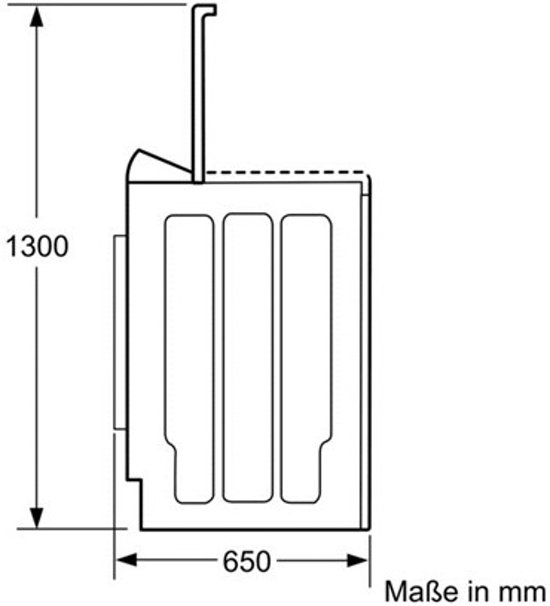Bosch WOT24285NL Serie 4 - Bovenlader wasmachine