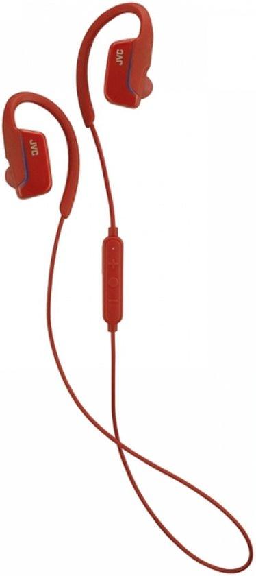 JVC HA-EC30BTRE - Bluetooth sportshoofdtelefoon - Rood