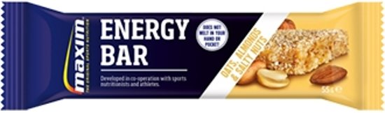 25x Maxim Energy Bar Oats, Almonds and Salty Nuts 55g