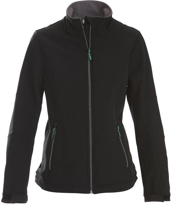 Printer Trial Lady Softshell Jacket black XL