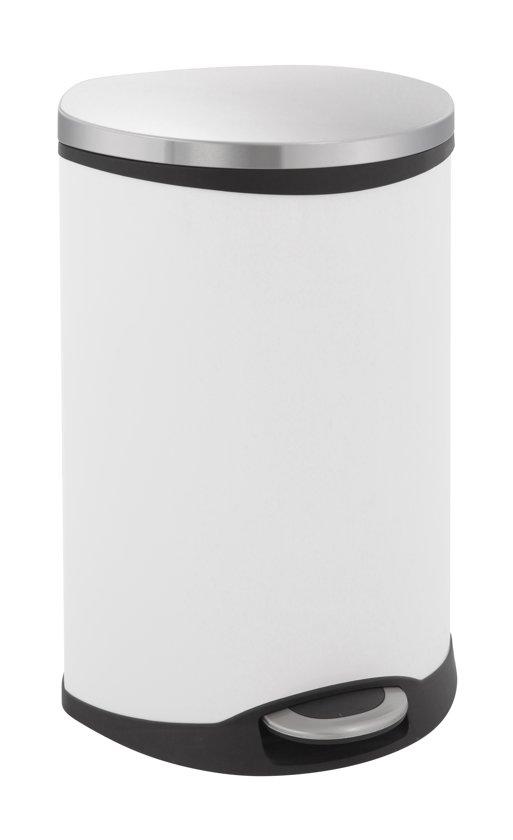 EKO Shell Recycling Bin 22 + 22 Liter Wit