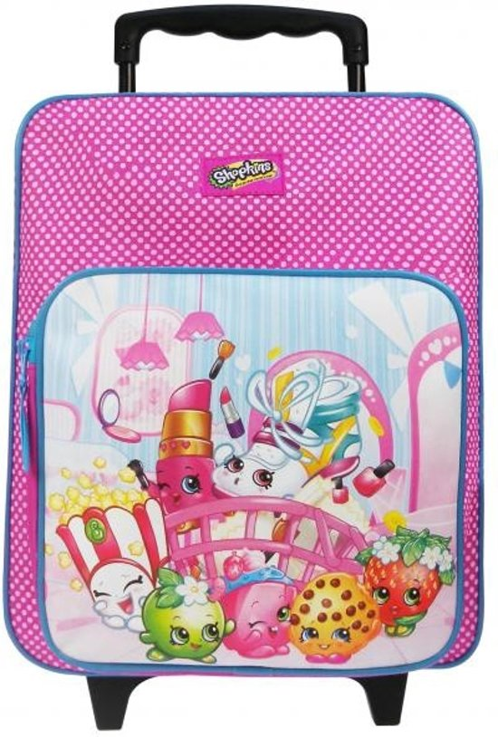 Shopkins Awesome - Rugzaktrolley - Roze