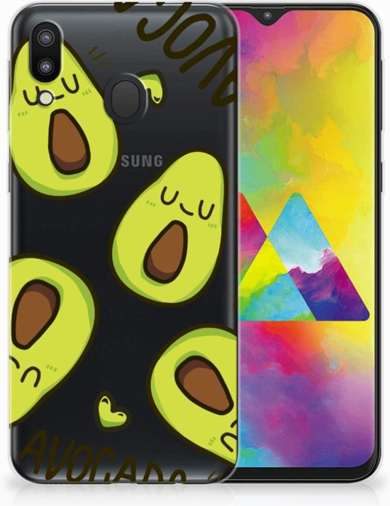 Samsung Galaxy M20 Uniek TPU Hoesje Avocado Singing