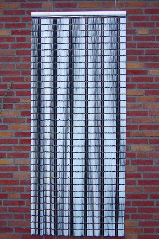 Sun-Arts - Vliegengordijn - 90x210 cm - Wit