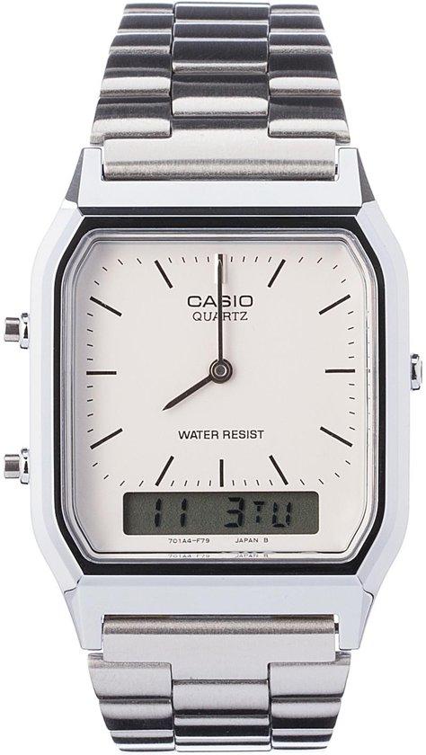 Casio AQ-230A-7DMQYES - Horloge - 27.80 mm - Staal - Zilverkleurig