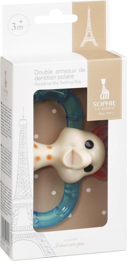 Sophie de Giraf - Dubbele Koelbijtring  (in geschenkdoos)