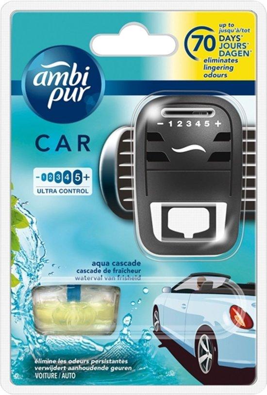 Ambi Pur Luchtverfrisser Aqua - Luchtverfrisser Voor In De Auto - Auto Luchtverfrisser - 7ml
