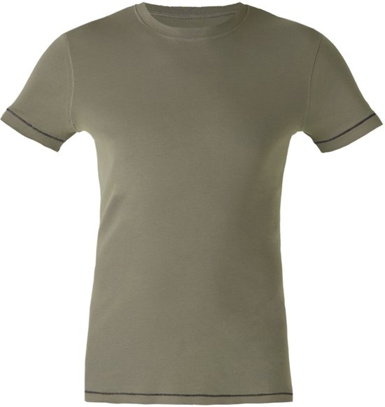 "Yoga-T-Shirt ""Oliver"", olive XL Loungewear shirt YOGISTAR"
