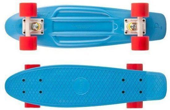 Penny Skateboard blauw