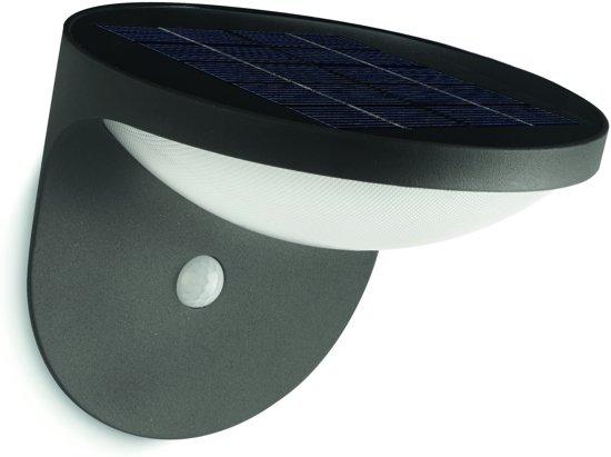 philips mygarden dusk wandlamp led antraciet. Black Bedroom Furniture Sets. Home Design Ideas