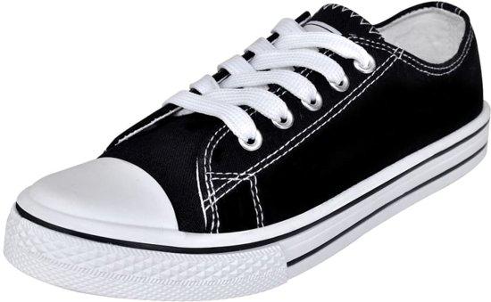 | Klassieke lage sneakers met veters voor dames