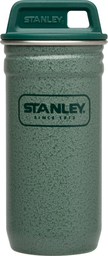 Stanley Adventure Shot Glass Set Thermosbeker - 4 x 200 ml - RVS - Hammertone Green