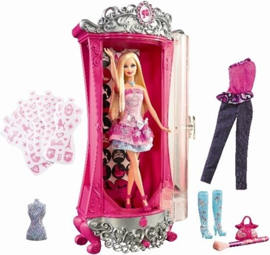 Barbie: Een Modesprookje - Glitterizer Kledingkast
