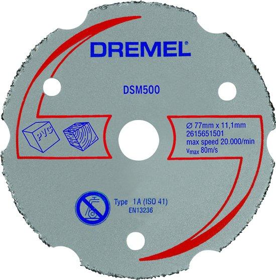 Dremel DSM20 carbide-snijschijf voor metselwerk - DSM500