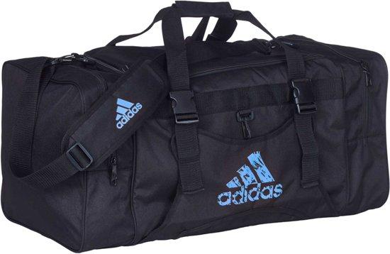 70e6bcc9354 bol.com | Adidas Team Bag Zwart / Blauw