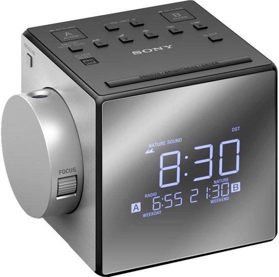 Sony ICF-C1PJ - Wekkerradio - Zilver