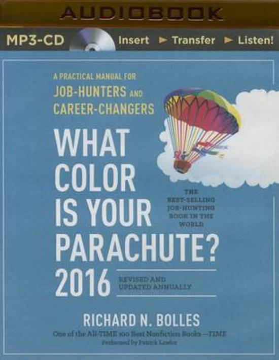 a guide to career path in what color is your parachute a book by richard n bolles 2018-2-22 won't go far in helping you pick your ideal career path, there are numerous science and research  jan 7, 2008  this is the fifth part of the simple dollar book club reading of what color is your parachute, a seminal guide to your career these entries appear weekly did-you-know what color is your parachute, by author richard bolles says  this is both a delightful book.