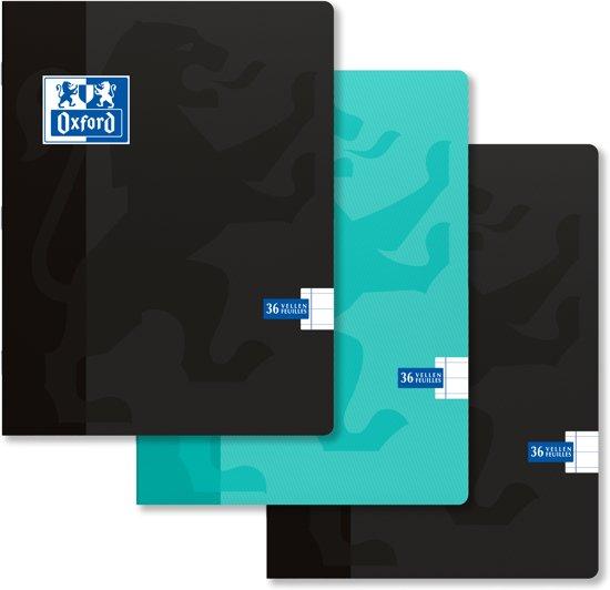 Oxford Schriften - A4 - geruit 10x10 - voordeelpakket 2+1 gratis