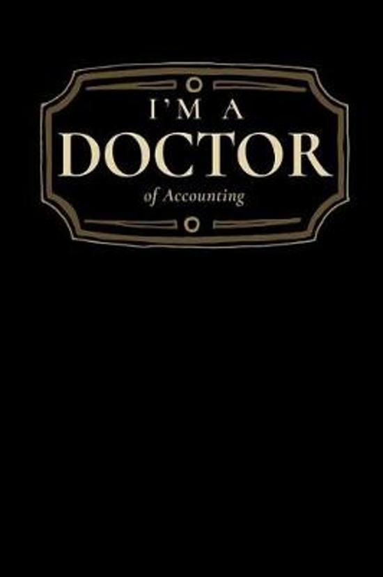 I'm a Doctor of Accounting