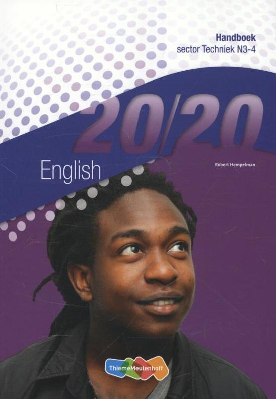 20 20 English handboek sector techniek N3 4