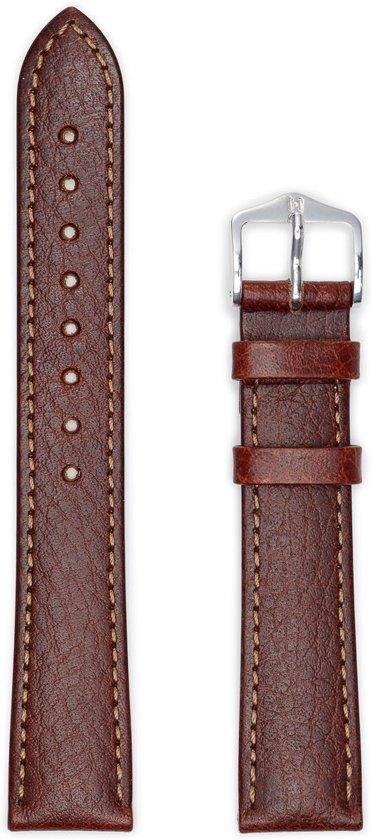 Hirsh Horlogeband -  Forest Bruin - Leer - 18mm
