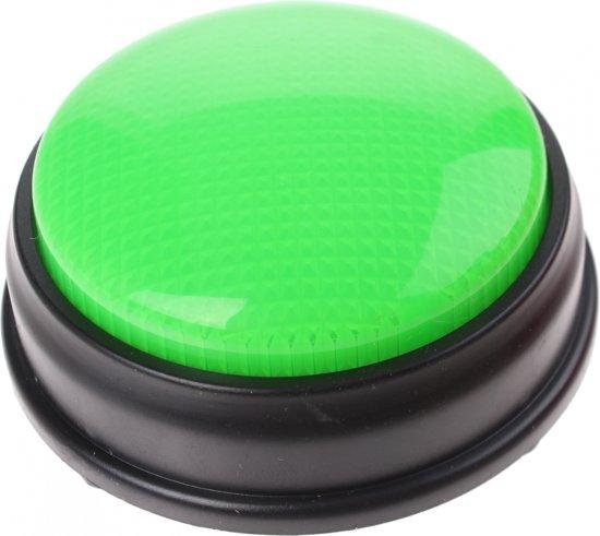 Afbeelding van het spel Johntoy Buzzer Met Licht En Geluid Groen 8 Cm