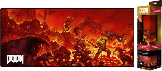 Doom - Extended Gaming Mousepad - Retro - 80x35 cm