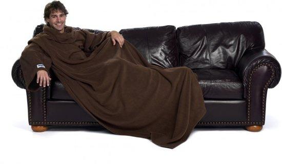 Slanket - Chocolade - Bruin - 1.5m x 1.4m