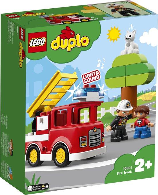 Afbeelding van LEGO DUPLO Brandweertruck - 10901 speelgoed