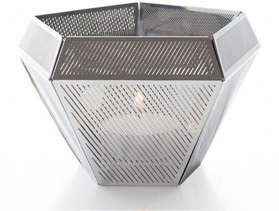 Tom Dixon Cell theelicht zilver
